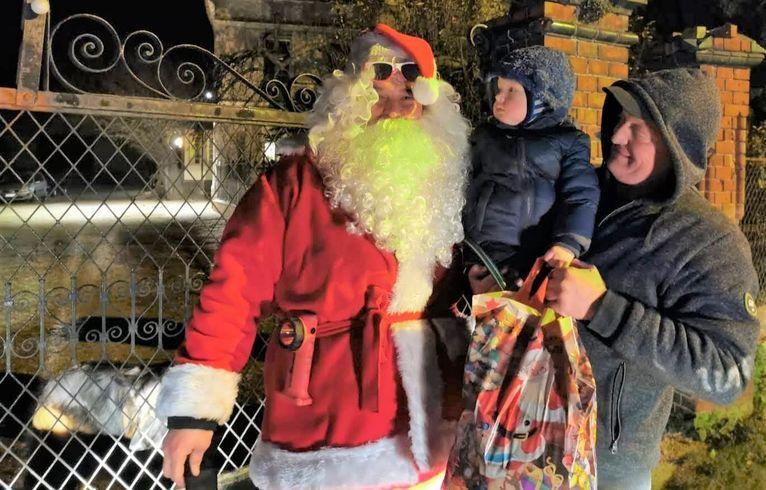 Pożarzysko: Mikołaj przyjechał wozem