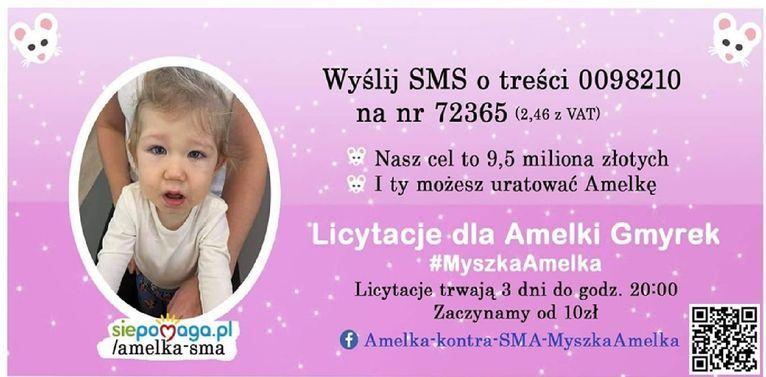 Strzegom: Pomoc dla Amelii