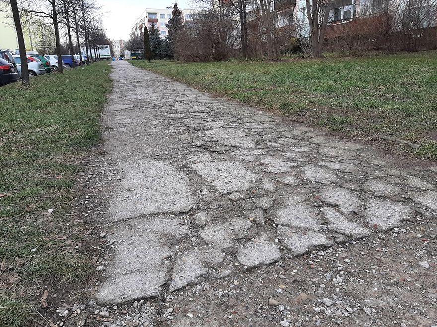 Świdnica: Chodniki do remontu