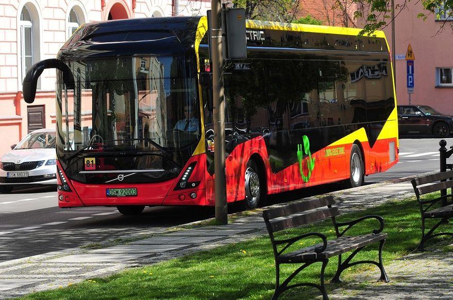 Świdnica: Elektryczne autobusy