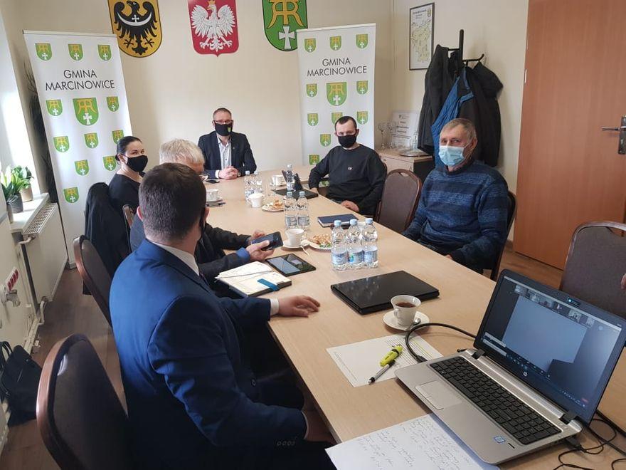 Marcinowice: Konsultacje rolne