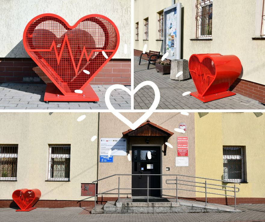 Marcinowice: Serce przed urzędem