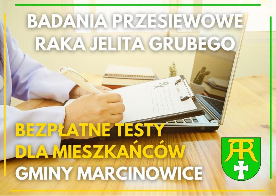 Gmina Marcinowice: Testy już dostępne