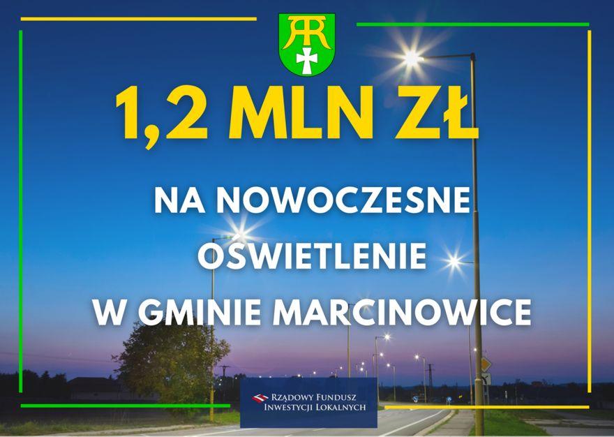 Gmina Marcinowice: Nowe oświetlenie